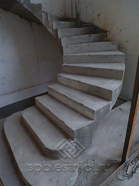 Бетонная лестница цена работы СПБ