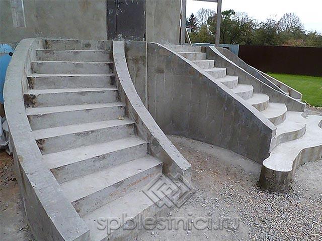 Бетонные лестницы в СПБ