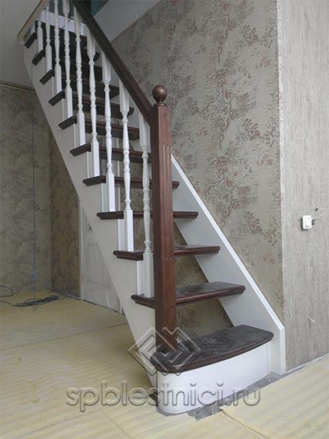 Деревянные лестницы купить в СПБ