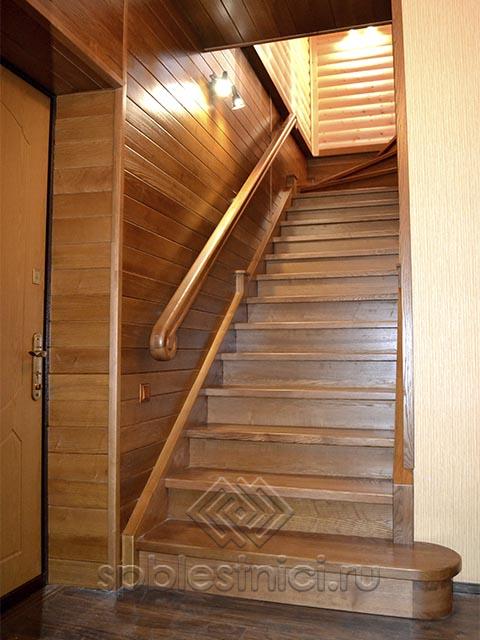Деревянные лестницы на второй этаж СПБ