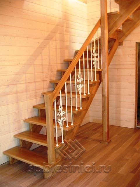 Деревянные лестницы от производителя СПБ