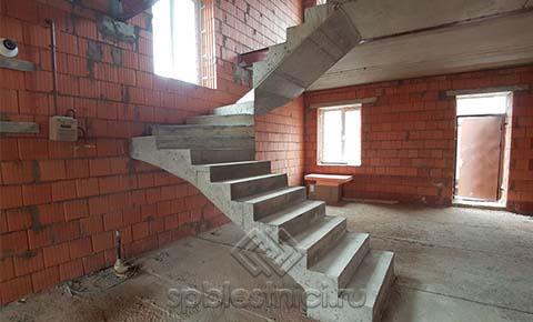 Фото железобетонная лестница на второй этаж