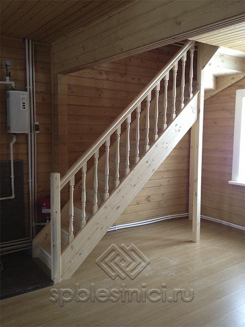 Купить деревянную лестницу СПБ