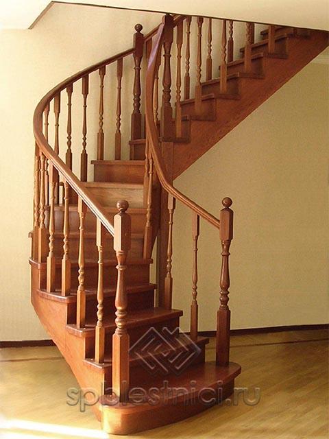 Купить лестницу в дом деревянную СПБ
