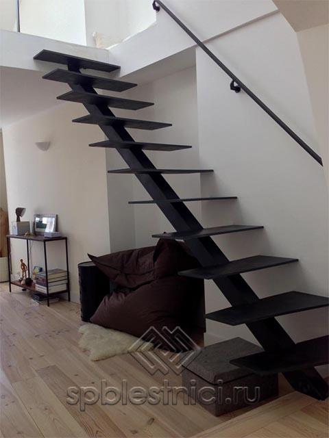 Купить металлическую лестницу в дом в Санкт Петербурге