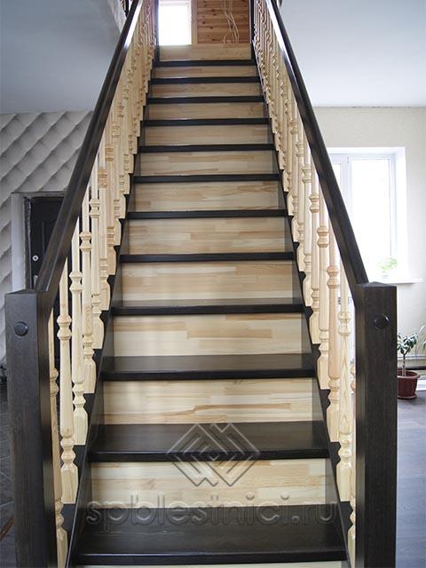 Лестницы деревянные межэтажные СПБ