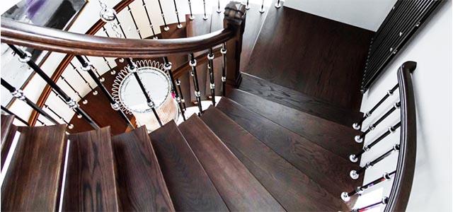 Лестницы деревянные в Питере