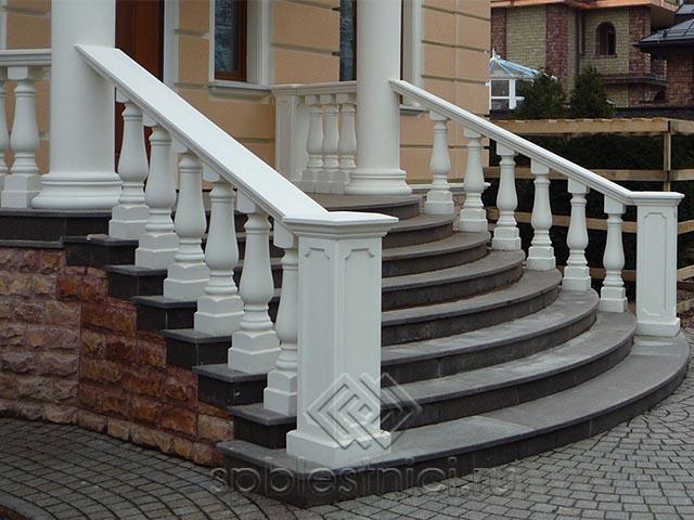 Лестницы металлические бетонные СПБ
