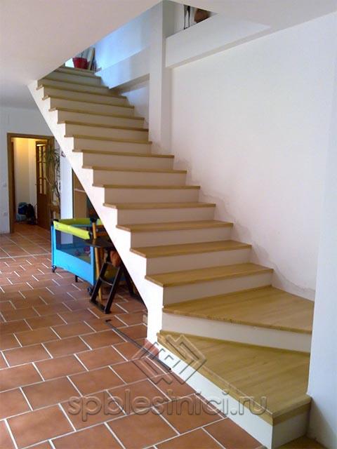 Монолитные бетонные лестницы СПБ