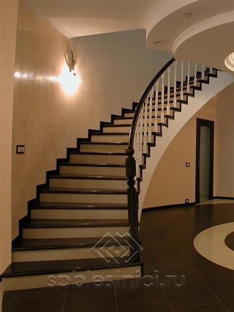 Недорогая бетонная лестница СПБ