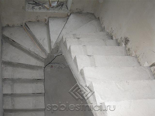 Построить бетонную лестницу в СПБ