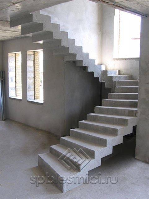 Расчет бетонной лестницы онлайн СПБ