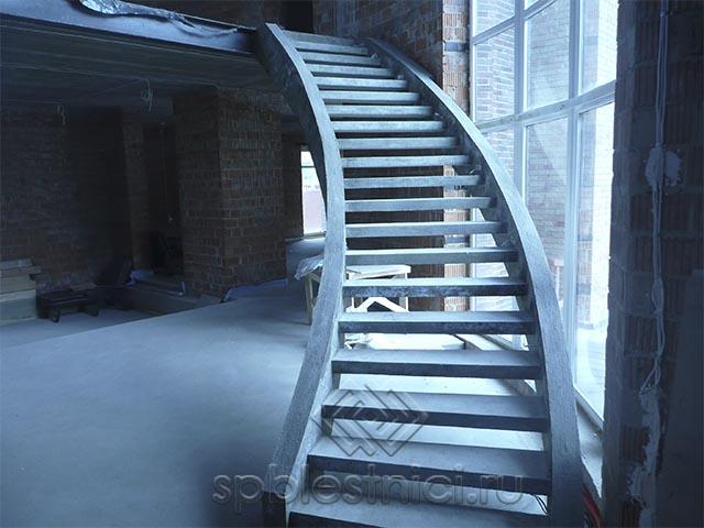 Размер бетонных лестниц СПБ