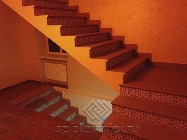 Сколько стоит бетонная лестница в СПБ