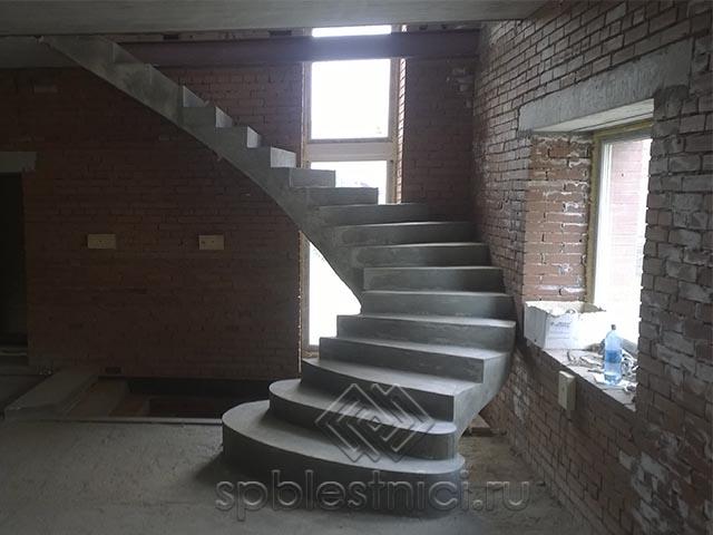 Стоимость бетонной лестницы СПБ