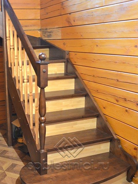 Заказать деревянную лестницу в СПБ
