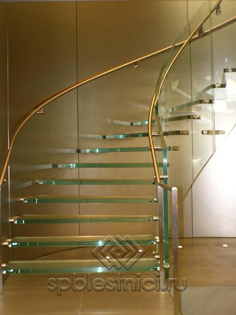 Купить стеклянную лестницу