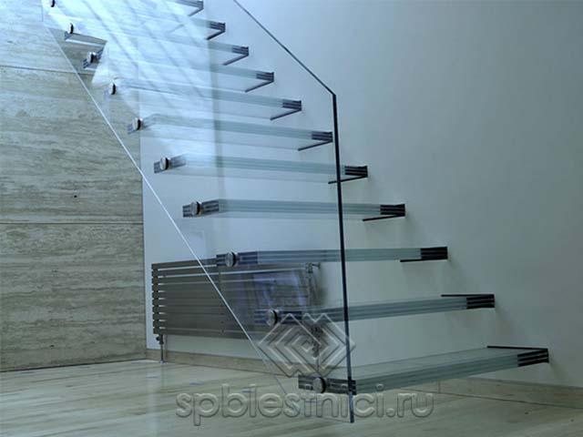 Лестницы из стекла в Санкт Петербурге